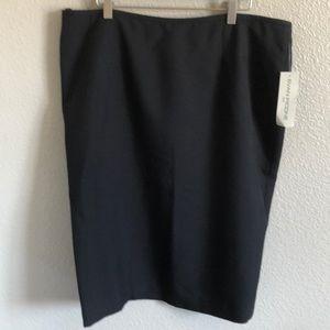 Evan Picone NWT black skirt
